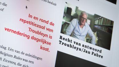 """Ondertekenaars brief over Jan Fabre: """"We zagen geen andere manier om deze situatie aan te kaarten"""""""
