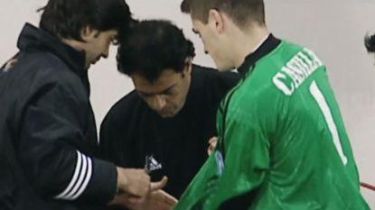 """Iconen van het voetbal. De knotsgekke CL-finale van """"gepasseerde"""" Casillas, die z'n mouwen afknipte voor hij inviel: """"Ik was niet klaar"""""""