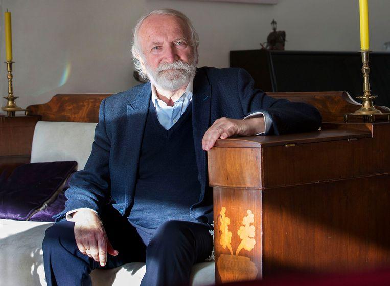 Rabbijn Awraham Soetendorp.  Beeld Werry Crone