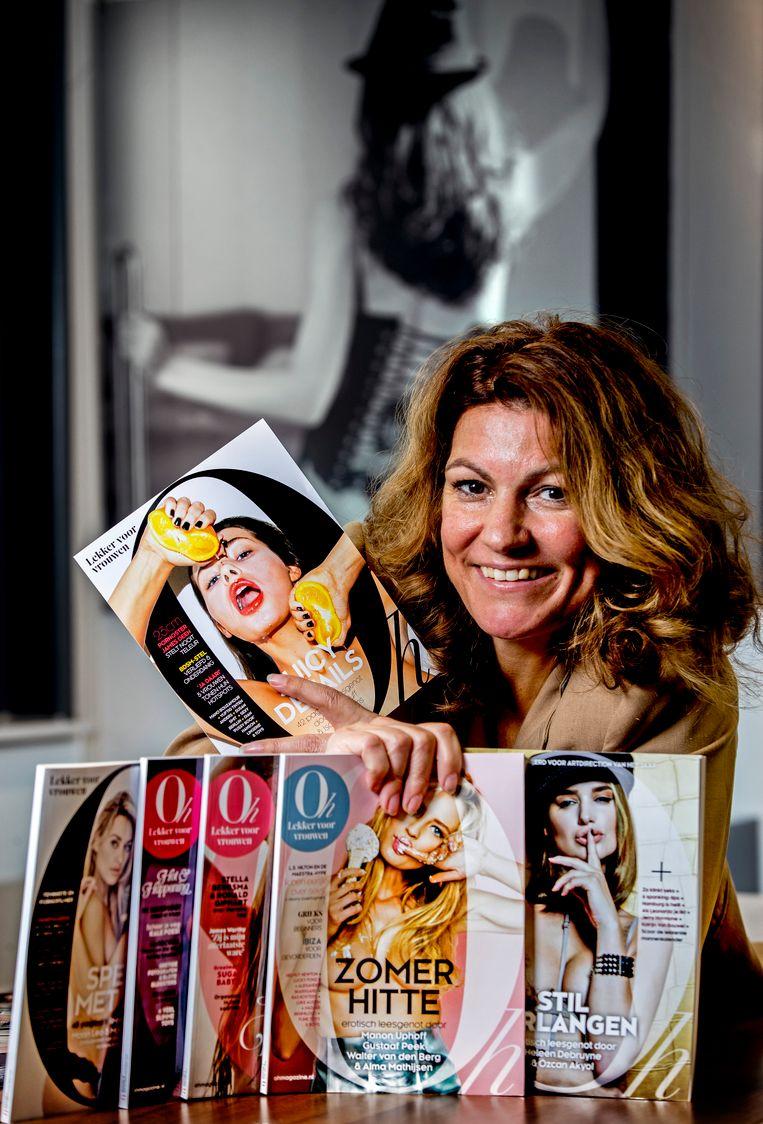 Hoofdredacteur en seksentrepreneur Sandy Wenderhold.