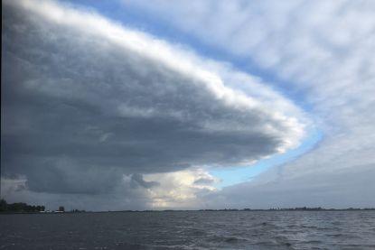Ufo-wolk gespot boven Friesland