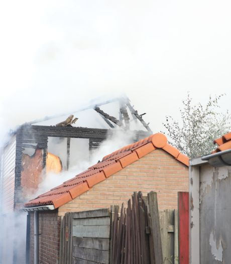 Kippen overleden door schuurbrand Tiel
