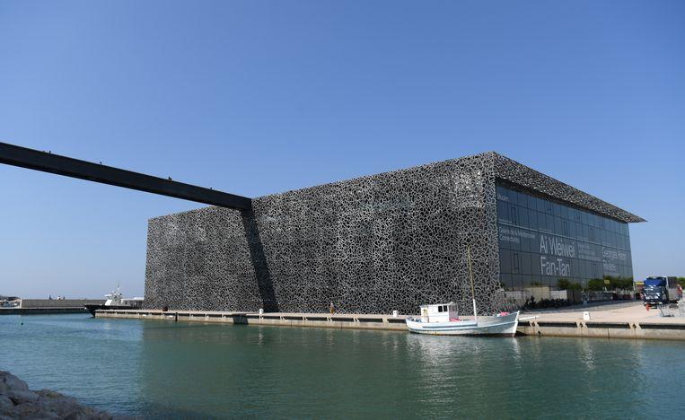 Het MuCEM in Marseille. Beeld DPA