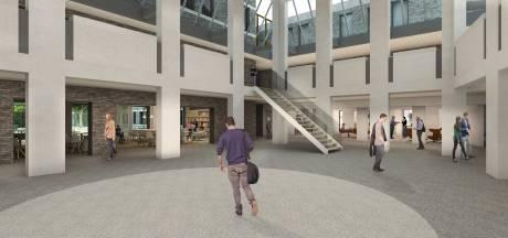 Schetsontwerp Huis voor de Samenleving: multifunctionele zaal in gemeentehuis Deurne