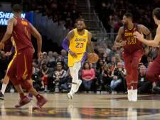 'Happy returns' voor LeBron James in Cleveland