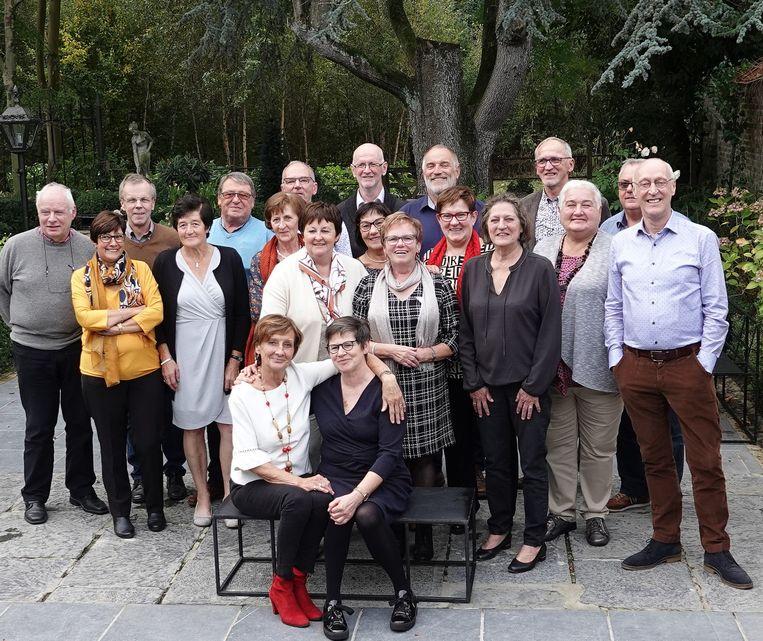 De 65-jarigen van Oostwinkel.