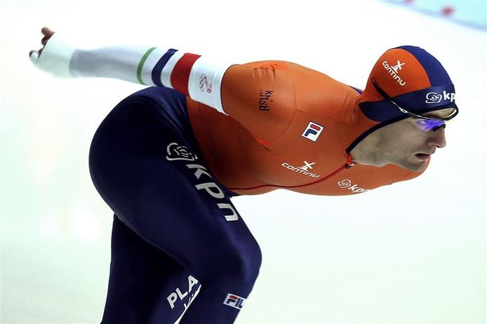 Na zijn veertiende plaats op de 1.000 meter werd Thomas krol tiende op de 1.500 meter.