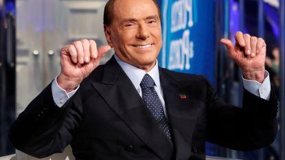 Berlusconi (82) opgenomen in ziekenhuis met nierproblemen