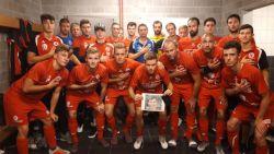 """""""We deden het voor jou, Emiel"""": spelers FC Gullegem eren overleden jeugdspelertje (13)"""