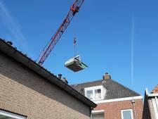 Nieuw terras in Harderwijkse binnenstad is fikse operatie