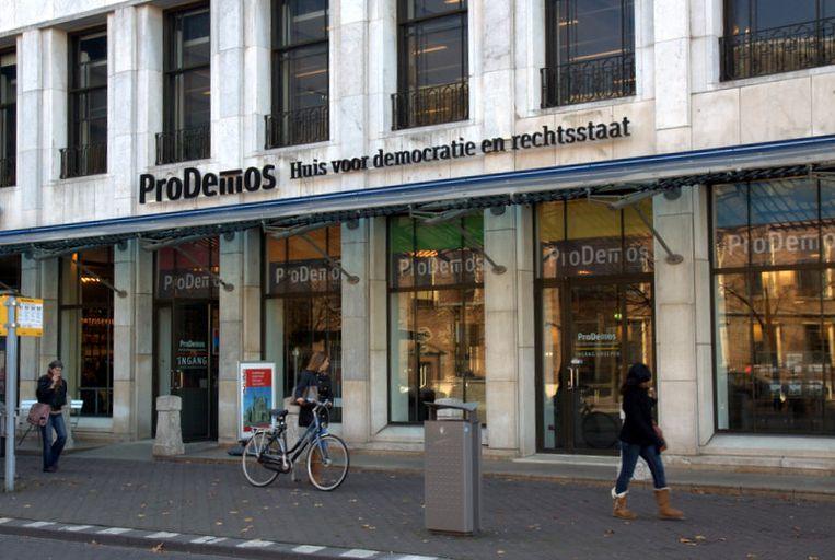 Bezoekerscentrum ProDemos aan de Hofweg in Den Haag.