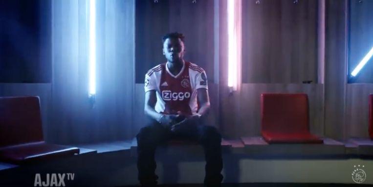 Still uit de clip 'Herres' van rapper Sevn Alias Beeld Ajax Media