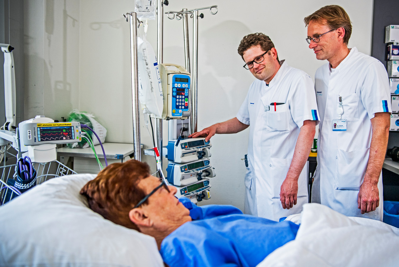 Archieffoto op de intensive care
