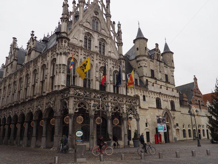 Het stadhuis van Mechelen.