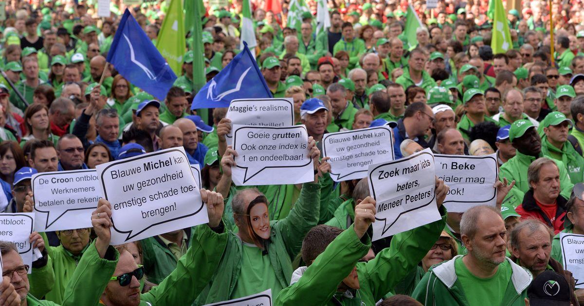 Nationale Staking: Vakbonden Organiseren Algemene Nationale Staking Op 15