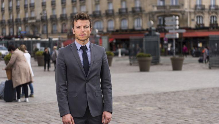 De ondernemers Christophe Hecker (32) uit Straatsburg en Aziz François Ndiaye (45) uit Versailles. `Het moet anders, of we eindigen nog als Griekenland.` Beeld