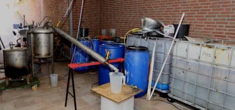Aantal drugslabs in Brabant blijft stijgen: opnieuw koploper van Nederland