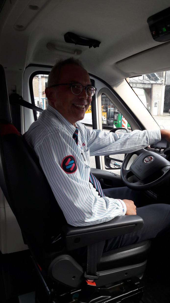 Breng-flexchauffer Ronald Loman in Arnhem.