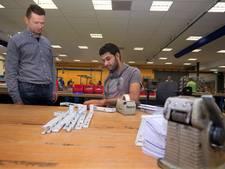 Stageplek voor vluchtelingen bij Hameland