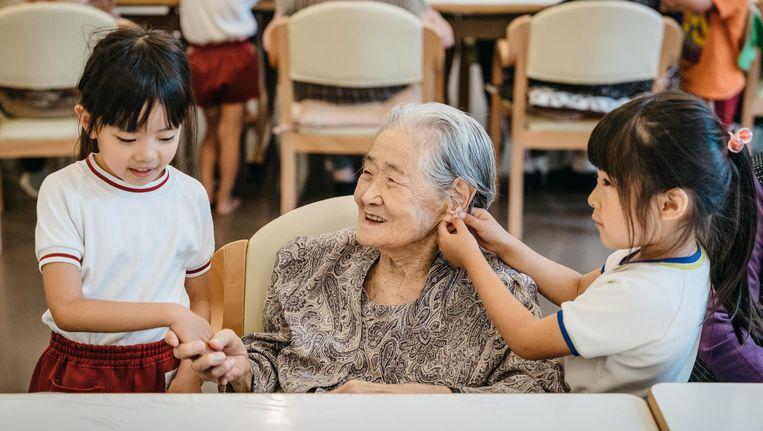 Bedwelming Generaties helpen elkaar: het succes van Japanse kinder #IB06