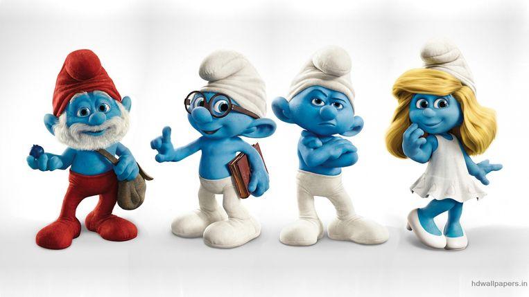 Zo Vieren De Smurfen Hun 60ste Verjaardag Showbizz Hln