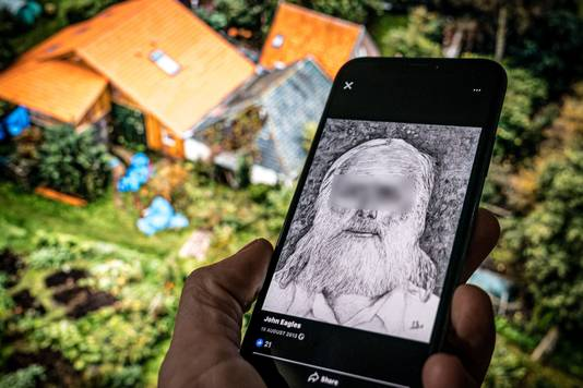 De Facebookpagina van de 67-jarige Gerrit-Jan van B., de vader die met zes kinderen ondergedoken zat in een boerderij in Ruinerwold.