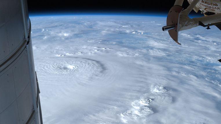 Een foto vanuit het ISS van december vorig jaar. Beeld EPA