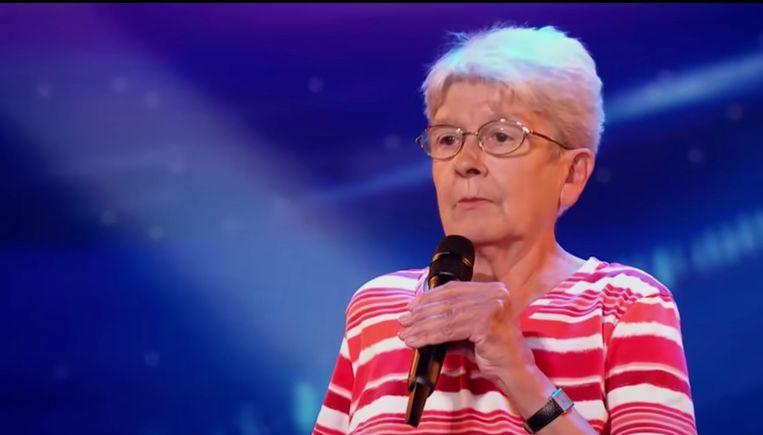 MC Lily in 'Belgium's Got Talent'.