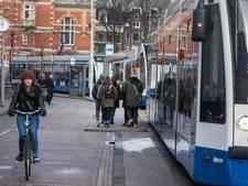 Problemen tramverkeer door aanrijding en ontsporing