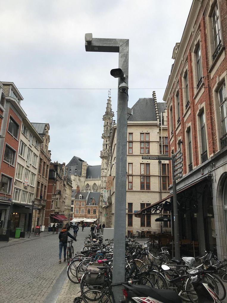 Het eerste exemplaar staat in de Naamsestraat.