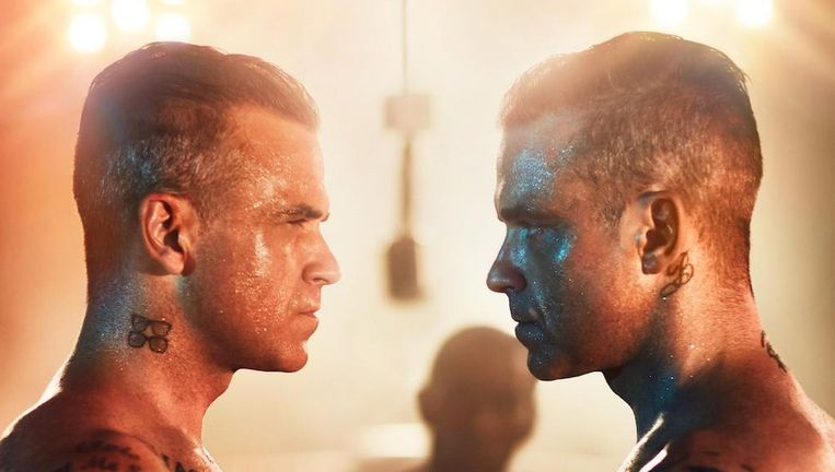 Robbie Williams en Robbie Williams. Beeld