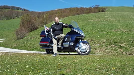 Motorrijden was een grote passie van Ferdy van Merrienboer.
