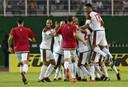 Marokko viert de plaatsing voor het WK.