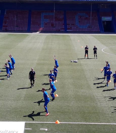 Zeventien spelers bij eerste training FC Den Bosch