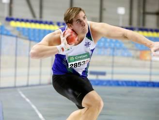 Kogelstoter Jarno Wagemans houdt de moed erin ondanks sluiting fitnesscentra