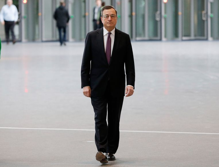 Mario Draghi Beeld ap