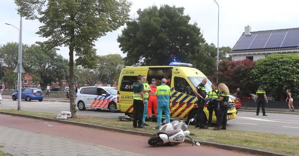 Scooterrijder zwaargewond door ongeluk in Den Bosch.