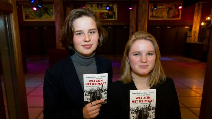 Anuna De Wever en Kyra Gantois stellen boek voor in De Roma