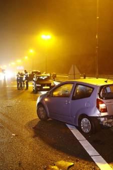 Verkeersinfarct rondom knooppunt Hattemerbroek voorbij