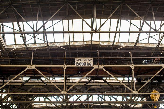 Hal van de vroegere machinefabriek Backer & Rueb.