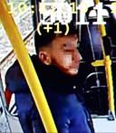 Door de politie verspreidt beeld van Gökmen Tanis uit de tram.