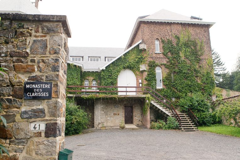 Het klooster in Malonnne waar Martin onderdak kreeg.