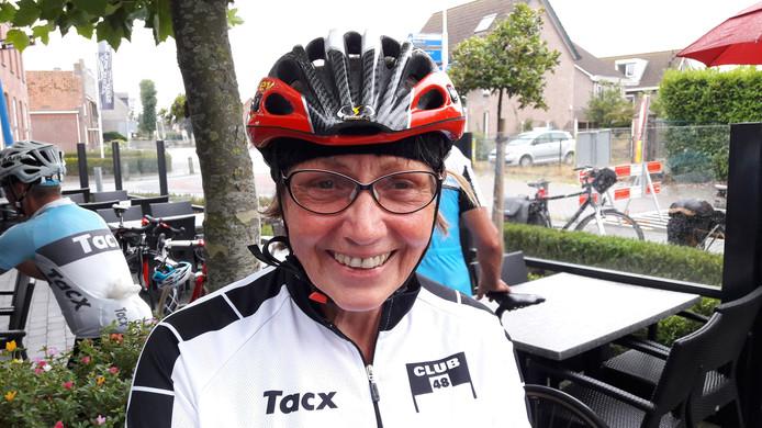 Keetie van Oosten-Hage behoorde jarenlang tot de nationale wielertop. Ze fietst nog steeds veel en doet zaterdag mee aan de toertocht die haar naam draagt.