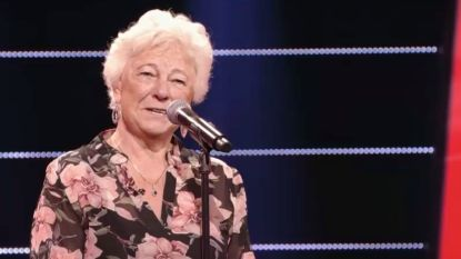 VIDEO. 'The Voice Senior'-kandidaat Mariette is niet op haar mondje gevallen