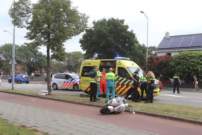 Zwaargewonde bij ongeluk in Den Bosch.