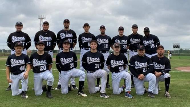 """Voorzitter Damon Baesen en Mortsel Stars (Eerste divisie) fiere kampioen in het baseball: """"We blijven inzetten op de jeugd"""""""