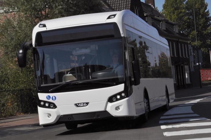 VDL levert vijf elektrische bussen van het Citea type SLF-120 aan HTM in Den Haag.
