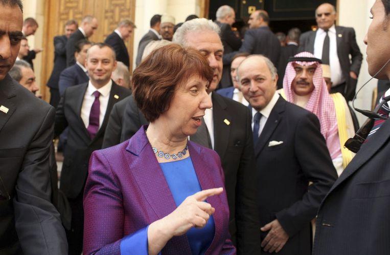 EU-buitenlandchef Catherine Ashton. Beeld reuters