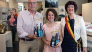 Voetbalicoon Walter Meeuws en waterskikampioen Jasmien Geens openen expo over sporterfgoed
