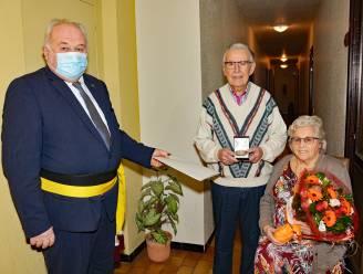 Huwelijksbootje Marcel en Rosa vaart 65 jaar
